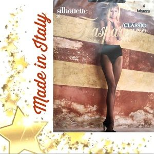 TRASPARENZE Pantyhose Dk Brown made in Italy🌟